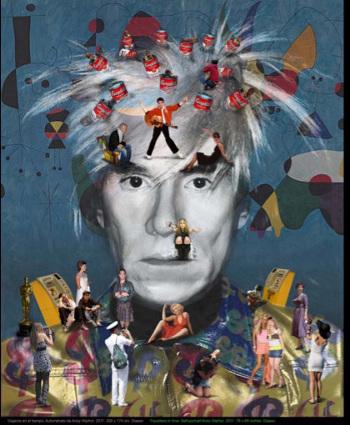 Autorretrato Andy Warhol