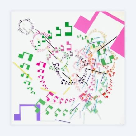 METTA II Impresión digital sobre metacrilato y acrílico 120x120 cm