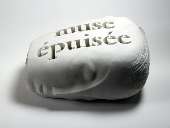 Muse épuisée aprés Brancusi , 2013