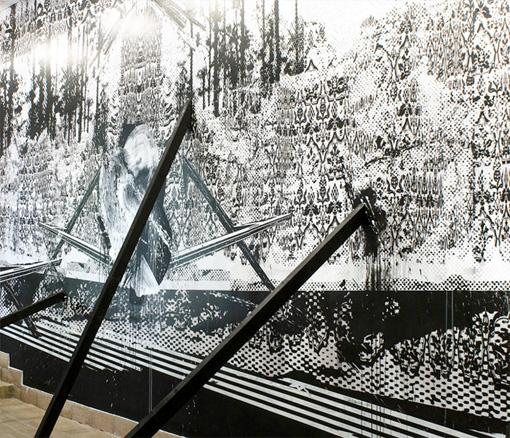 FeedBackStage. Intervención mural, 2011