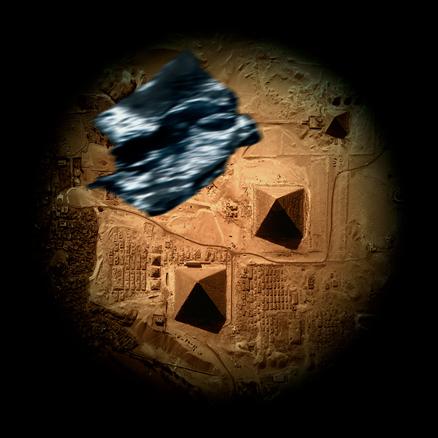 Piramides de Gizeh 100x100cm