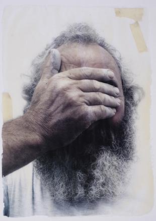 Invisibles. Registro digital sobre látex. 2008