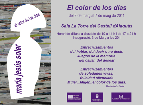 Invitación a la exposición de Alaquàs. 2011