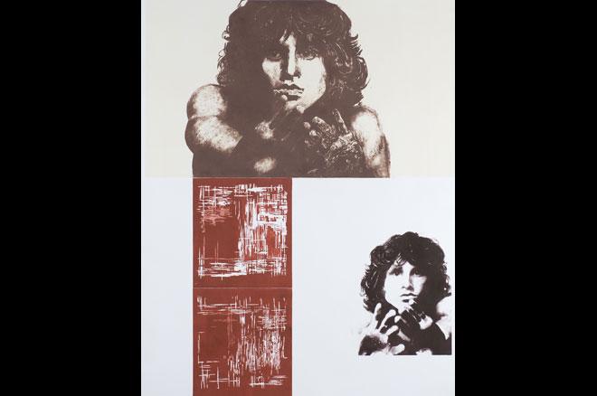 ? y condenaste el alma...Rosalía de Castro. Offset. 2002. 88 x 60 cm.