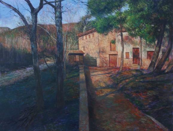 Sol de tarde óleo-lienzo 89x116