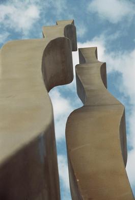 Columnas de Agua, 18m de altura, Granada-Motril Octubre 2008