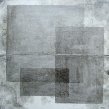 Formes grises  2008  80 x 80    Técnica mixta