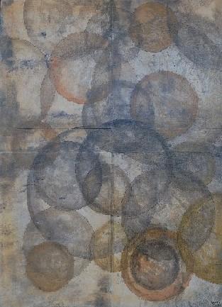 Unions 2009  110 x 80  Técnica mixta