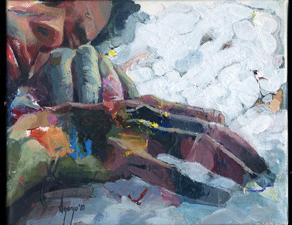 Hans-on canvas III 25x20