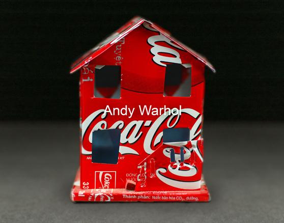 Andy Warhol, serie Home, 60 x 40 cms, fotografia s. aluminio, 2007