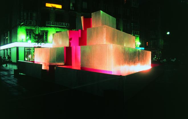 El laberinto I. Plaza Pombo. Santander.