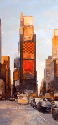 Times Square NYC. 100x46cm.