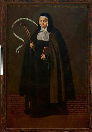 Velazquez - La madre Jerónima de la Fuente