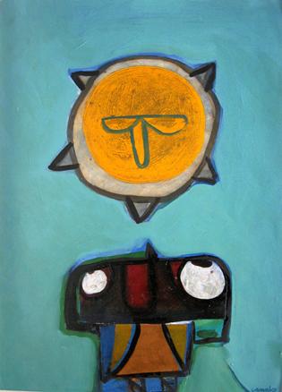 El Caminante. 70 x 50 cm. Año 2011