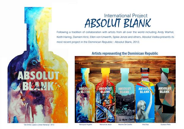 Proyecto Internacional ABSOLUT Blank