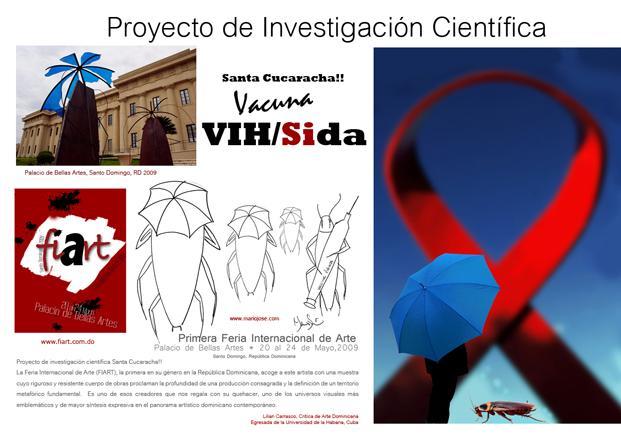 Santa Cucaracha Proyecto Investigación Científica, Vacuna VIHSida