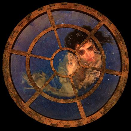 Sin título monstruas, 2008, infografía en caja de luz, 37x45 cm