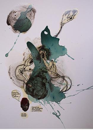 Maraña1 -pintura tec mixta