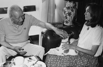 Jorge Luis Borges y María Kodama