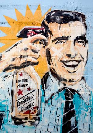 The Mind Cleaner  Mural   Gijón - España