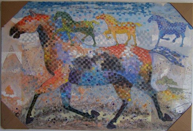 Los Elegidos 100 x 150 cm