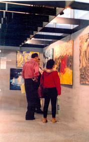 Pintura informatizada, primera feria de Apple en España, 1992