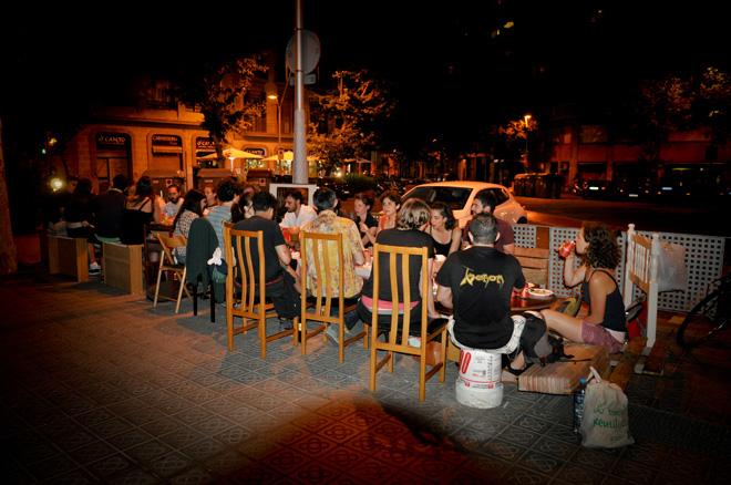 Con-Trastos 12. Acción en espacio público. 2013