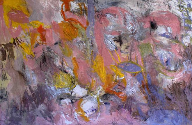 Big Time Sensuality. Acrílico sobre lienzo. 80 x 120 cm. 2009 cm