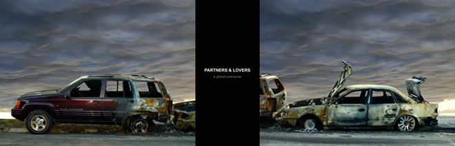 Partners & Lovers, 2010. Fotografía híbrida. 66 x 205 cm