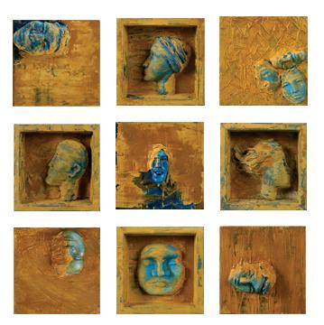 Retratos 20x20cm c/u