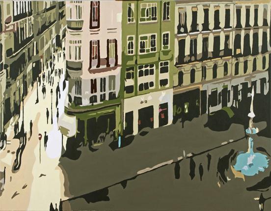 Plaza y calle Larios