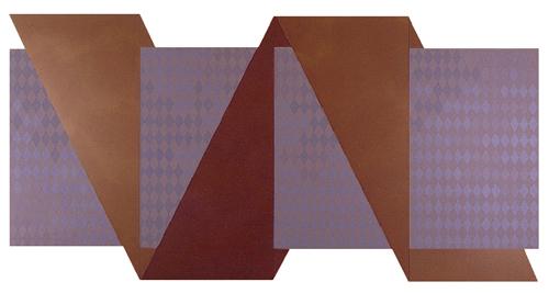O.I. Continua, 1987. Acrílico s. madera. 160 x 320 cm