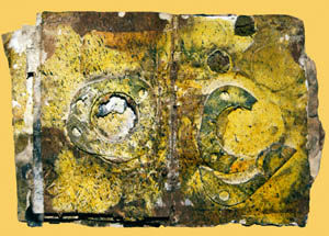 34x22 Serie inacabada de los cuadernos de cal. 8 páginas. Mixta sobre papel