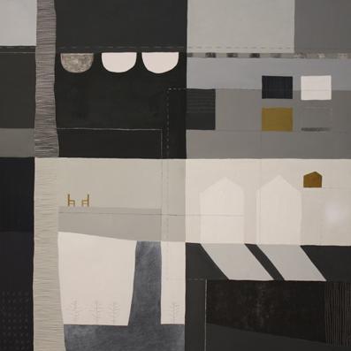 CASES - 2011 - Tècnica Mixta - 90 x 90 cm