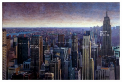 DESDE ROCKEFELLER CENTER - 135 X 183 cm.