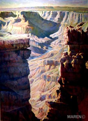 Grand Canyon, óleo sobre tela, 73 x 100 cm, 2003