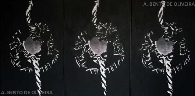 Trapecista - Plásticas. Seleccionada para el LXXIX Salón de Otoño de AEPE