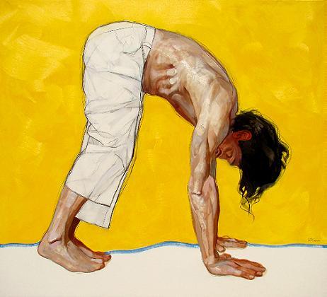 Amarillo - oleo sobre tela - 180 X 200 cm