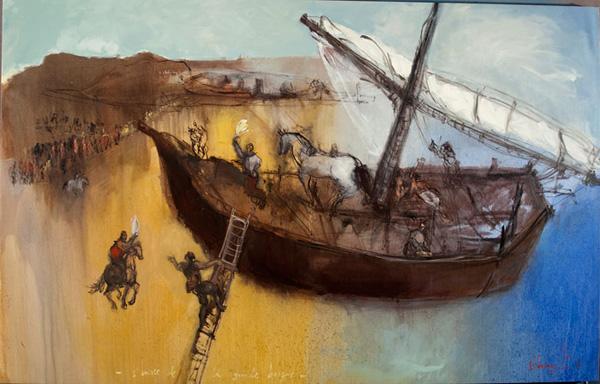 oleotela 140 x 213 cm 2011