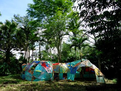 Refugio comunitario, Colombia 2011.
