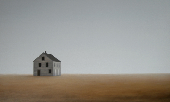 Landscape 12. 55 x 89 cm. Acrílicolienzo