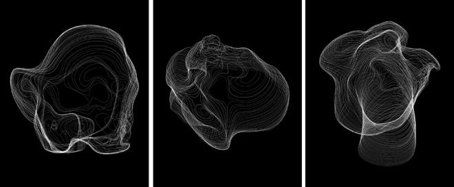 Black boxes, 2011 - Engraved plexiglass