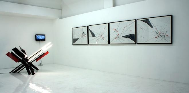 Supremat vista de la exhibicion 2012