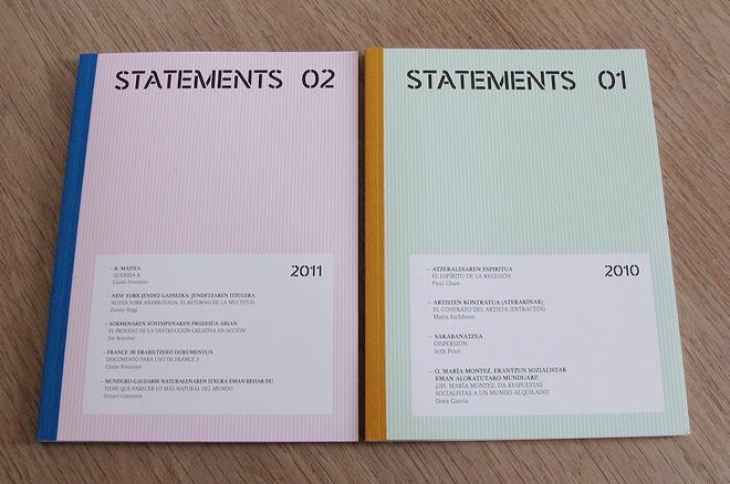 PublicaciónStatements