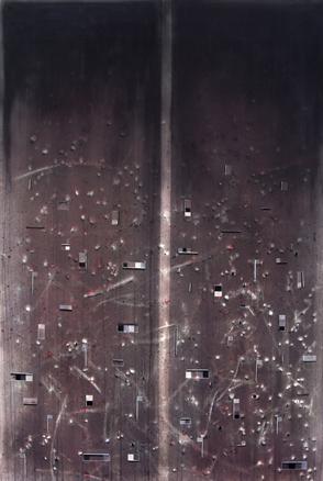 Deconstrucción  II, 2008.Óleo