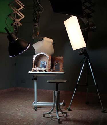 reconstruccion a partir del cuadro Las Hilanderas de Velazquez