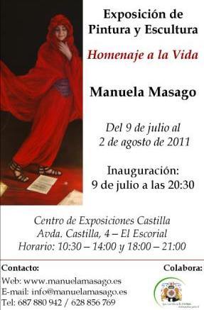 Exposición Manuela Masago en El Escorial