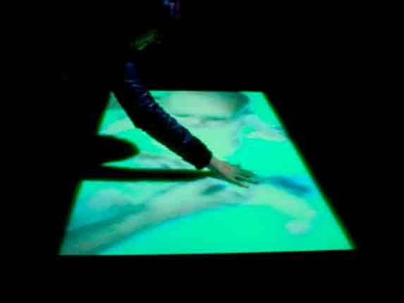 bath, 2012. videoinstalacion