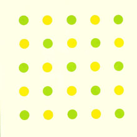 Zoïste, 2003. Técnica mixta sobre lienzo. 100 x 100 cm.