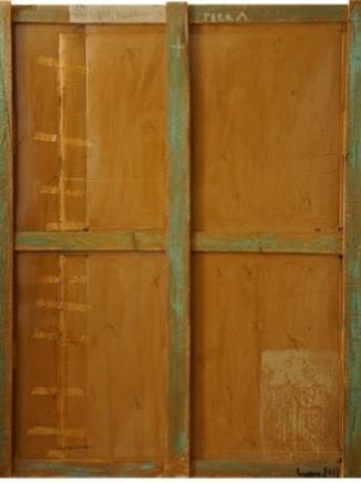 TERRA 185 x 150.T.mixta cartón y madera